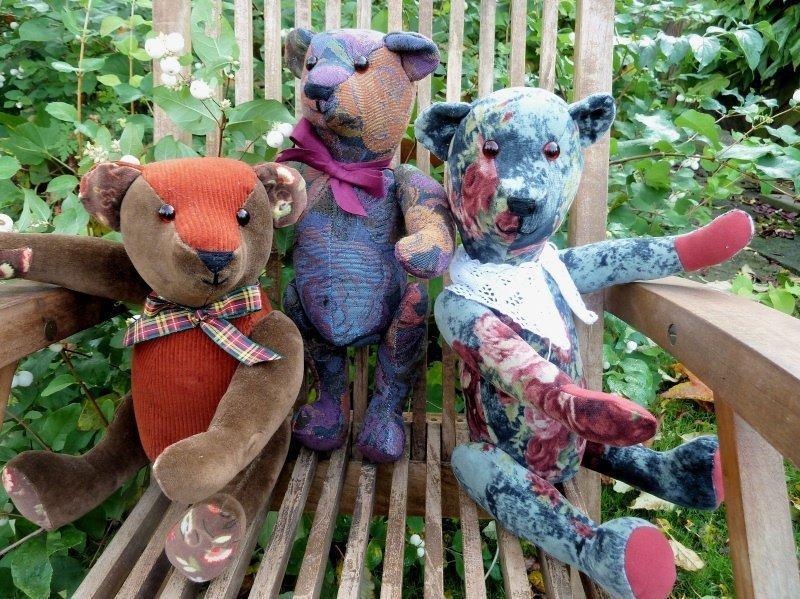 1BERNINA-Mitmachaktion 2015. Wir nähen einen echten Mohiarteddy: die Teddyparade