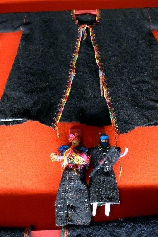 Blick in die Ausstellung 'Schätze der Maya' Sammlung Marion und Sylvie Breton l'aiguille en fête 2016