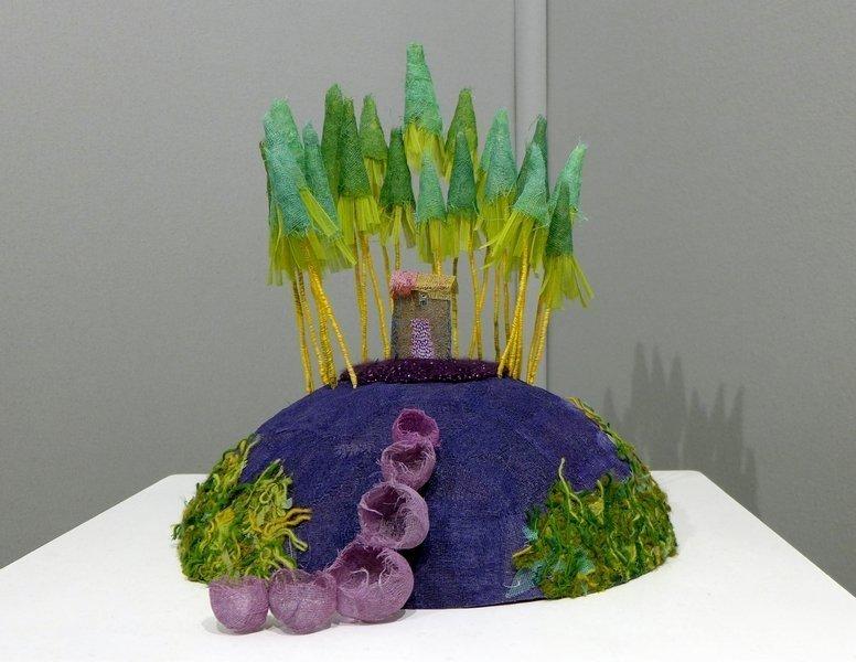 Blick in die Ausstellung 'Inside' Sophie Touret (Frankreich) l'aiguille en fête 2016