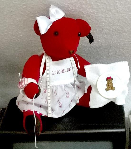3BERNINA-Mitmachaktion 2015. Wir nähen einen echten Mohiarteddy: die Teddyparade