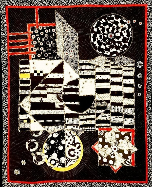 Orna Ron: Geometric Composition Foto freundlicherweise von Jana Sterbova zur Verfügung gestellt