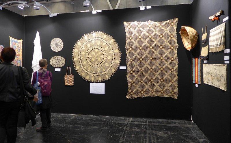 Blick in die Ausstellung 'Regard sur le Brésil' Kuratiert von Chica Boyriven (Brasilien/Frankreich) l'aiguille en fête 2016