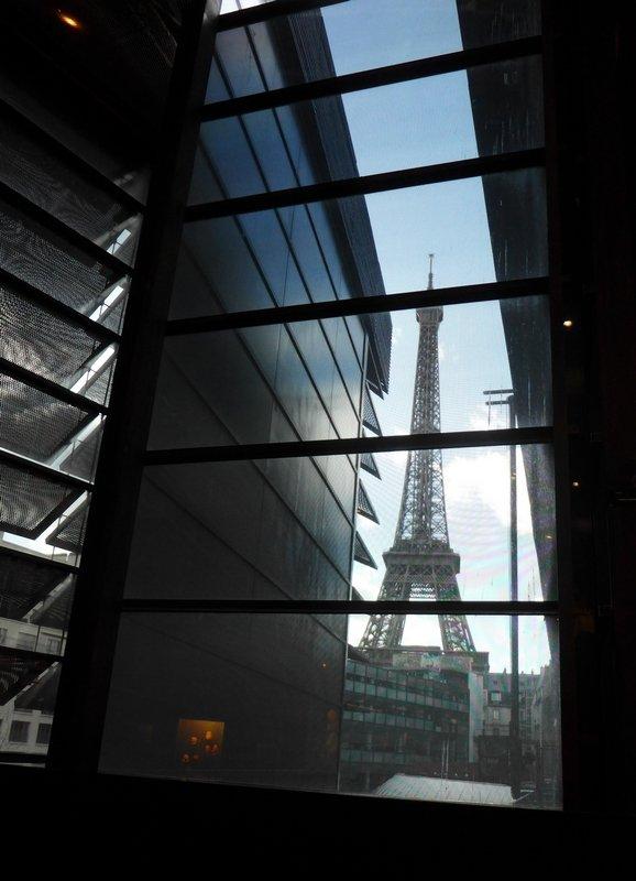 Blick aus dem Musée du Quay Branly