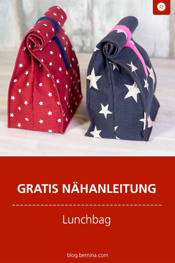 Kostenlose Nähanleitung: Lunch-Bag nähen