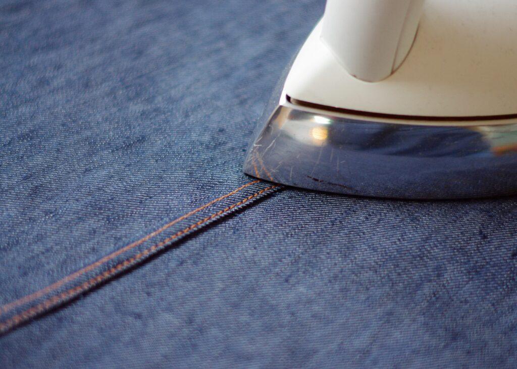 fertige kappnaht bügeln