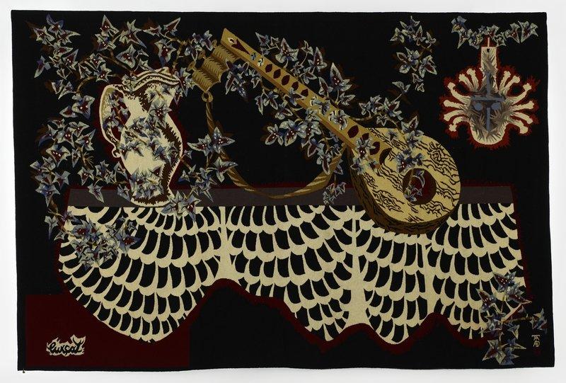 Jean Lurçat: Mexico 1954, Wolle 151 x 231 cm Fondation Toms Pauli, Lausanne Photo: AN, K. Seisdedos, Lausanne