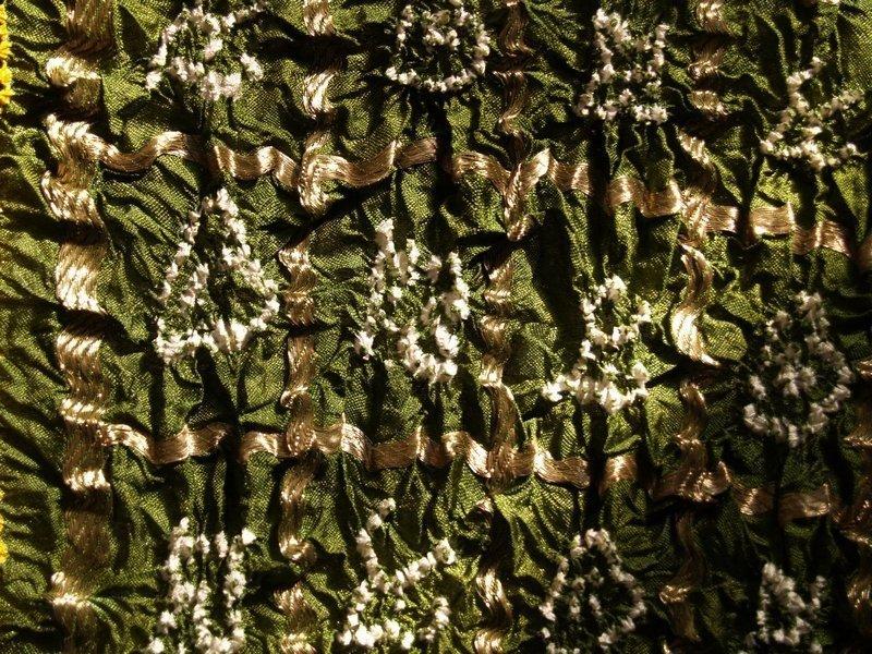 Ausstellung 'Textile Raritäten aus fernen Ländern' Foto freundlicherweise vom Oberfränkischen Textilmuseum Helmbrechts zur Verfügung gestellt