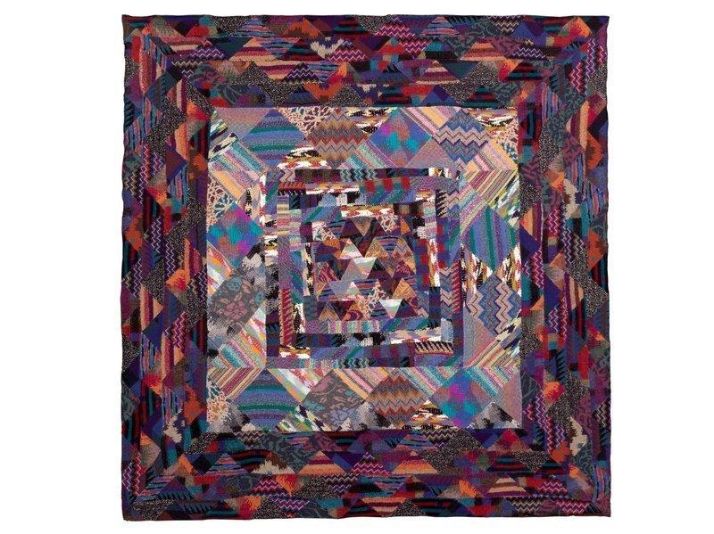 Ottavio Missoni: Arrazo, 209 x 202 cm Foto freundlicherweise von The Fashion and Textile Museum zur Verfügung gestellt