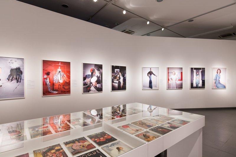 Ausstellungsansicht Horst: Photographer of Style © NRW-Forum Düsseldorf / Foto: B. Babic