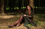 FILMKOSTUEME Tauriel Traveling Dress