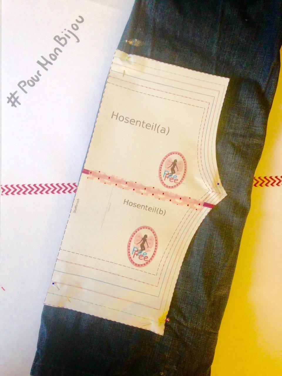 Schnittmuster von FeeFee: perfekt für Hosen-Upcycling