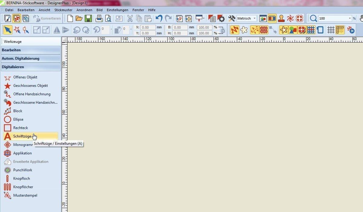 Ganz leicht Buchstaben-Applikationen mit der Sticksoftware V7 ...