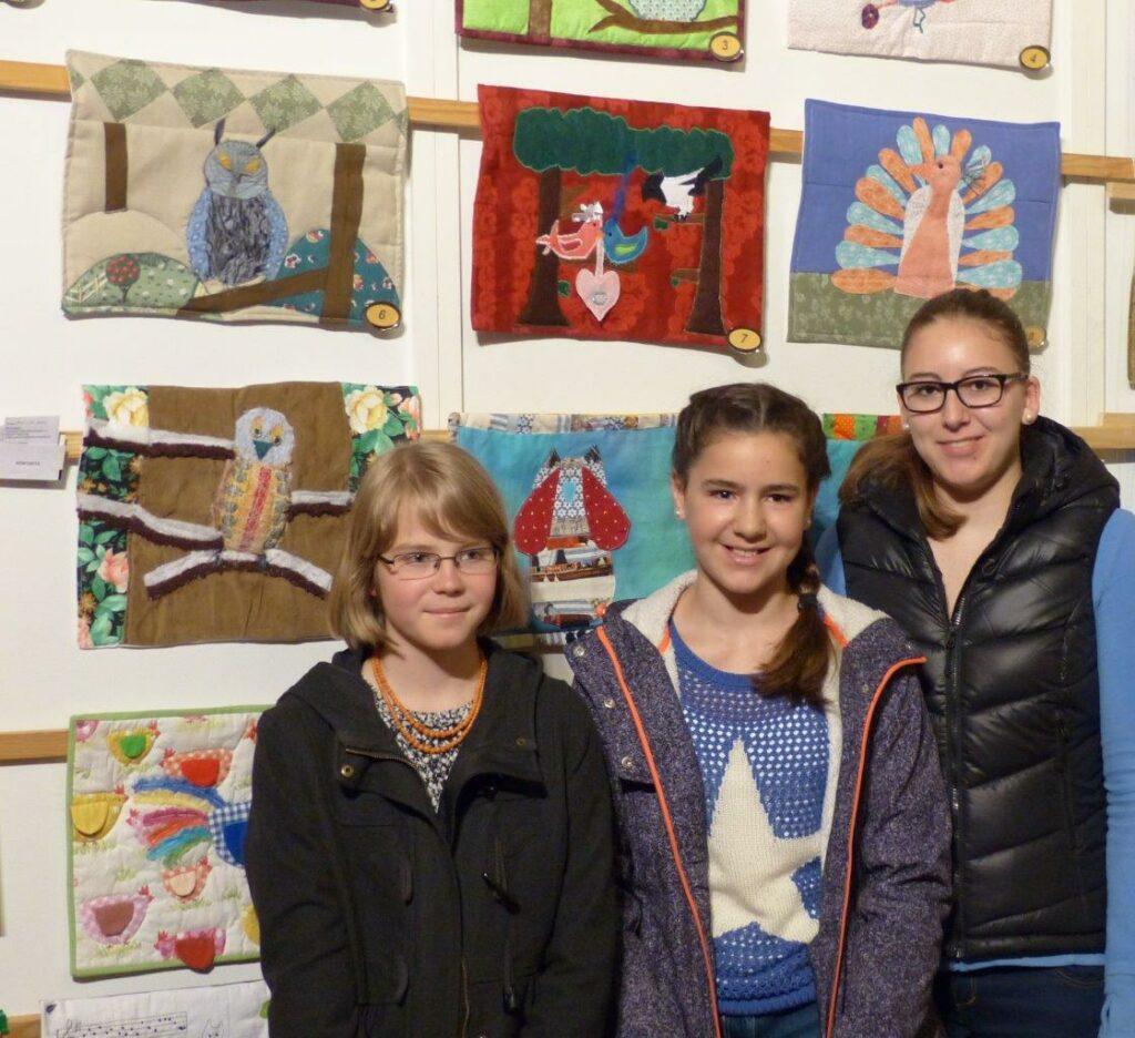 """Preisträger """"Vogelhochzeit"""": Freya, Felizitas und Raffaela"""