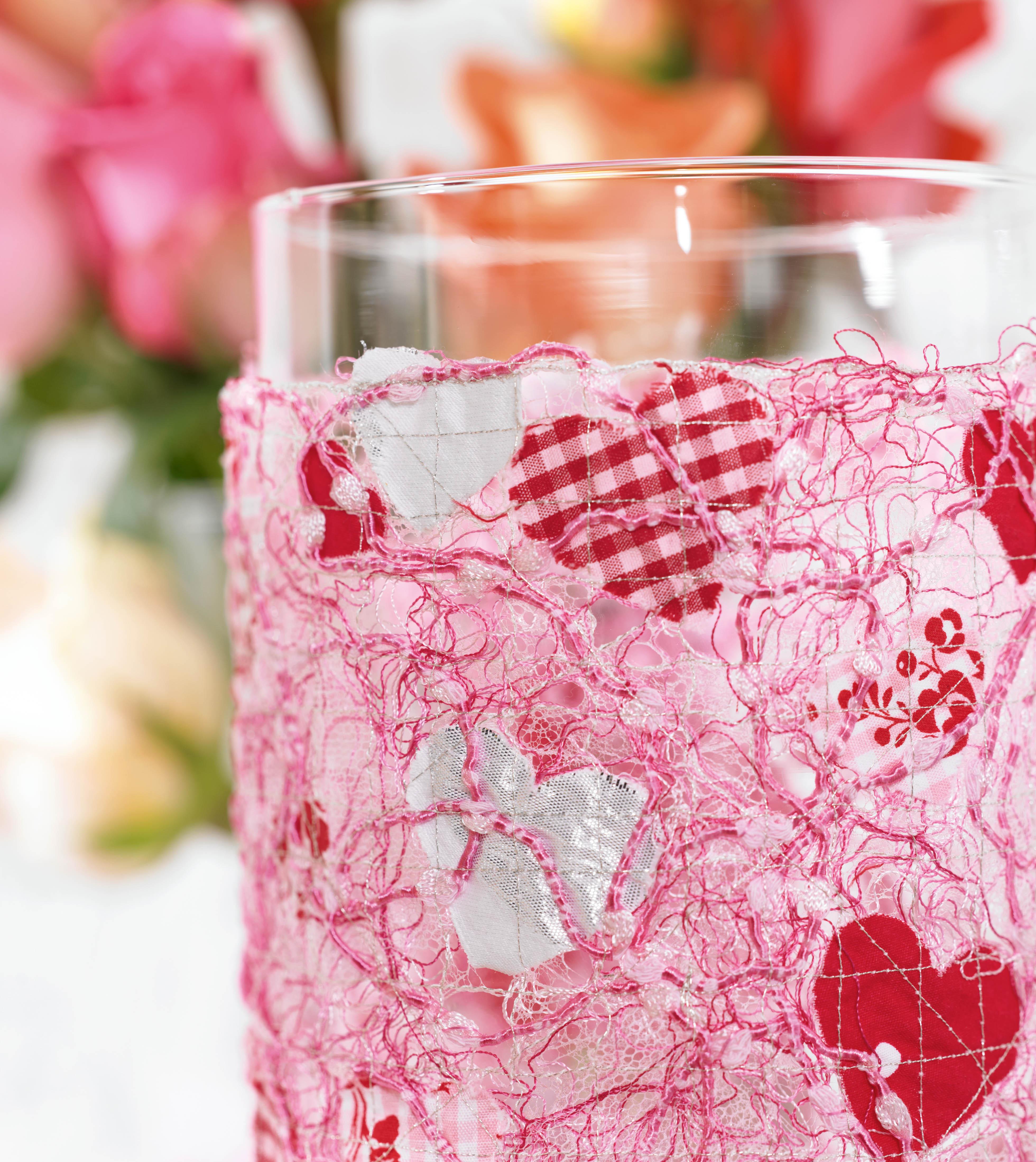 geschenkidee zum muttertag eine vasenhusse n hen. Black Bedroom Furniture Sets. Home Design Ideas