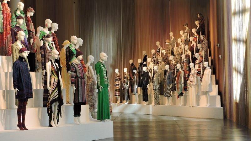 60 Jahre Missoni-Mode made in Italy Foto freundlicherweise von The Fashion and Textile Museum zur Verfügung gestellt