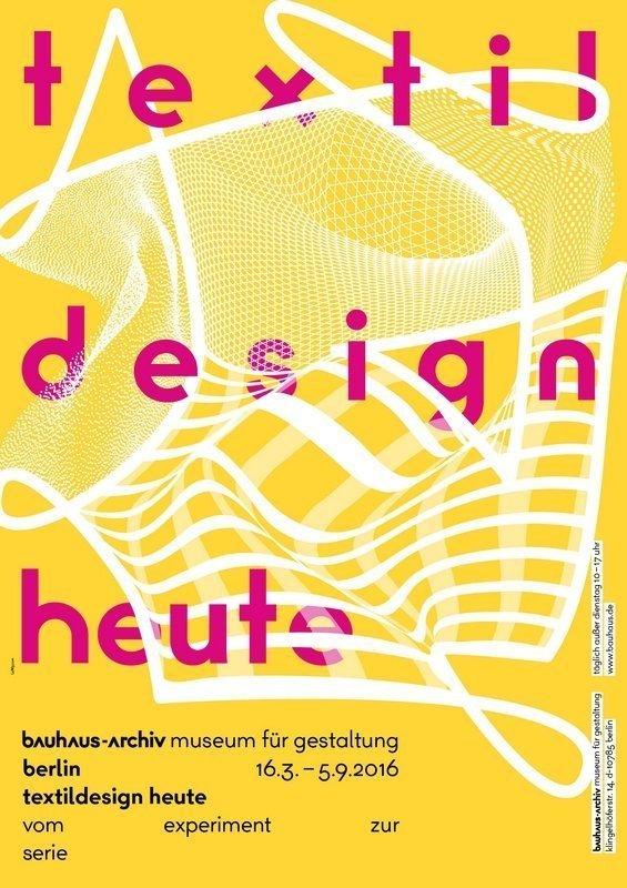 Ausstellungsplakat © Bauhaus-Archiv Berlin, Gestaltung: L2M3.com
