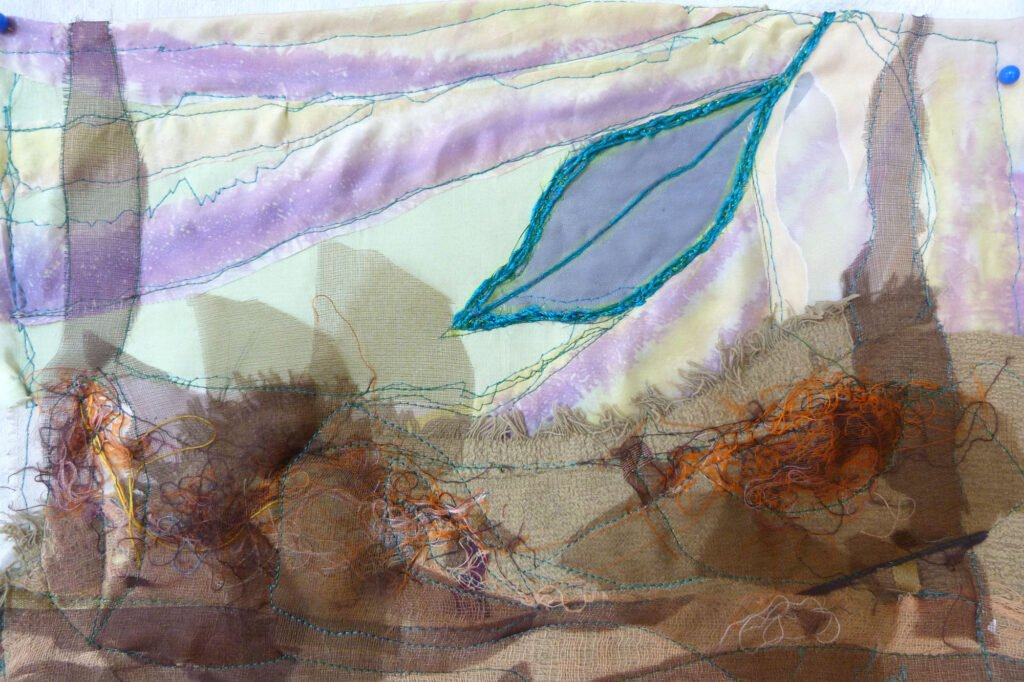 11) WALDBODEN (Detail), Gret Mayer