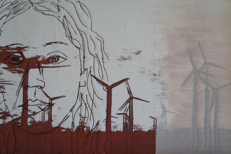 Evi Maria Kirchmair-Krismer: Wind, Detail Foto freundlicherweise von Evi Maria Kirchmair-Krismer zur Verfügung gestellt