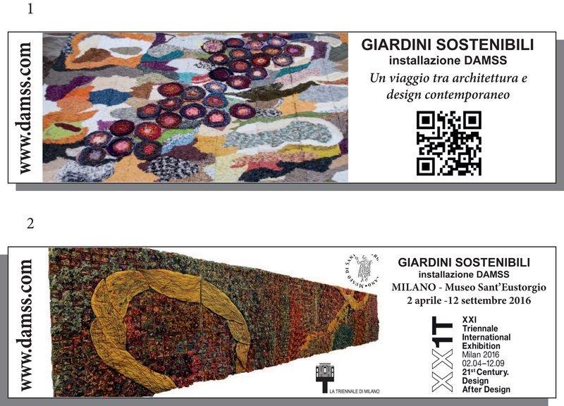 DAMSS – Giardini Sostenibili XXI. Triennale di Milano Foto freundlicherweise von DAMMS zur Verfügung gestellt