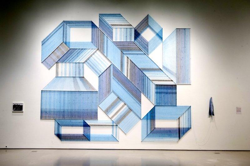 Arbeit von Adrian Esparza Foto freundlicherweise vom Contemporary Arts Center zur Verfügung gestellt