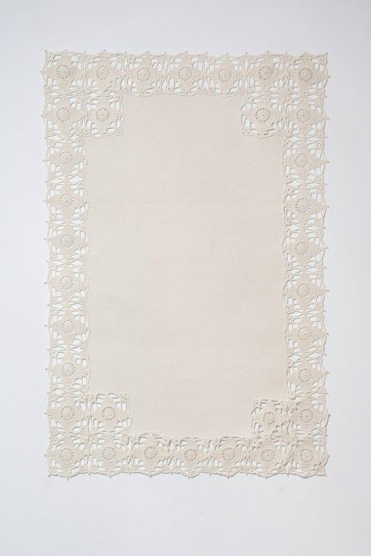 Hildur Bjarnadottir: Reconstructed Canvas II Foto freundlicherweise vom Contemporary Arts Center zur Verfügung gestellt