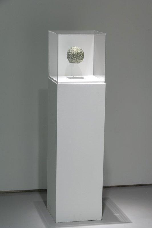 Ausstellungsansicht mit Arbeit von Hildur Bjarnadottir Foto freundlicherweise vom Contemporary Arts Center zur Verfügung gestellt