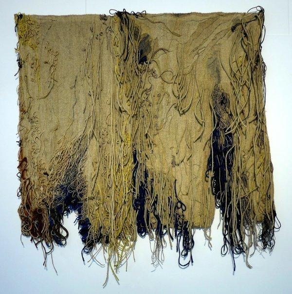 Ritzi Jacobi und Peter Jacobi: Ileanda 1974 Versch. textile Materialien Leihgabe Peter Jacobi