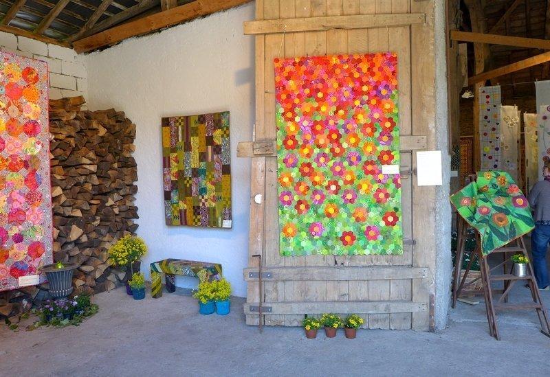 Ausstellung Gruppe Hesper Patchwork