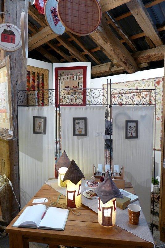 Ausstellung Gruppe Stoffwiessel