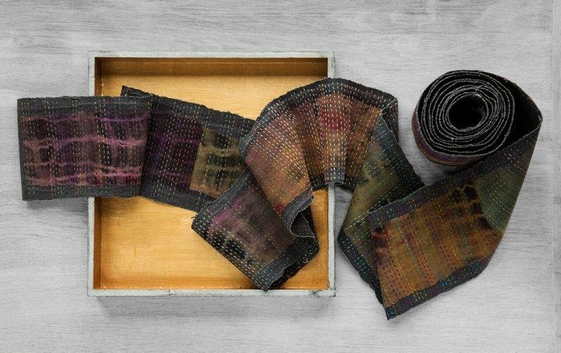 Cherilyn Martin (Gruppe Quilt Art): Silent dialogue Foto: Quilt Art
