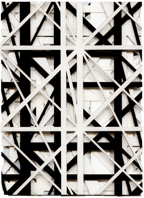Graphic Surgery (Erris Huigens & Gysbert Zijlstra), Increment XXXIII 2015, verschiedene Papiere und Kartons, 16 x 21 x 1 cm Foto: Graphic Surgery