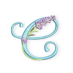C-Lavendel-Alphabet