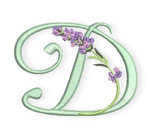 D-Lavendel-Alphabet