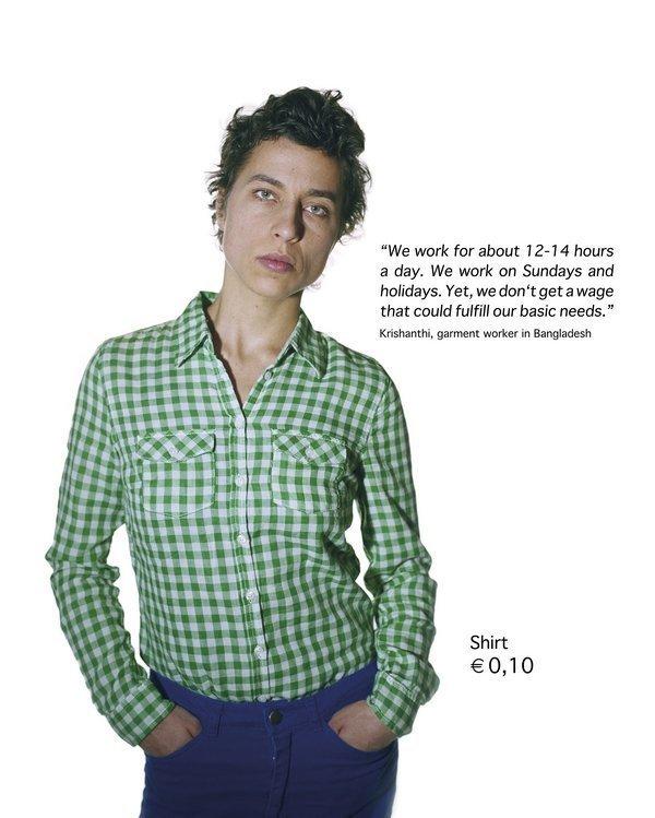 Susanne A. Friedel, beyond fashion, Nr. VI aus der Serie von 7 Bildern à 80 x 100 cm, Chrome-Pigment-Print auf Alu-Dibond, 2012 Foto freundlicherweise vom Museum zur Verfügung gestellt