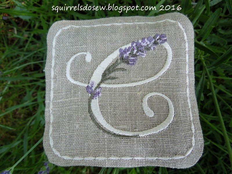 Lavender Sachet 1