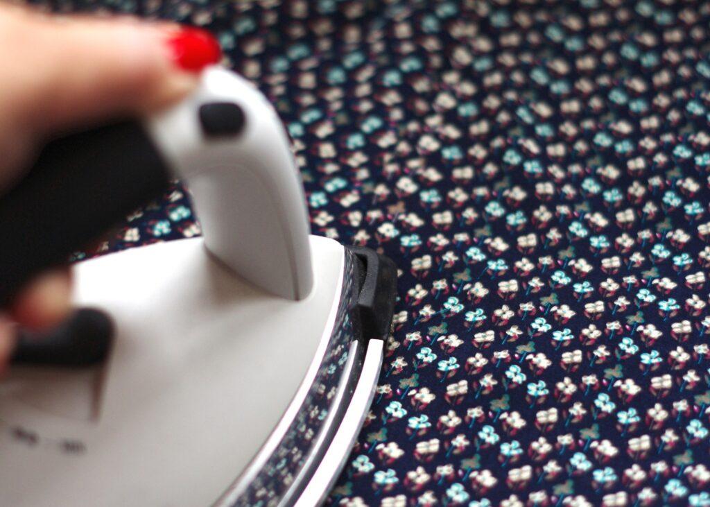 Taschenbeutel bügeln