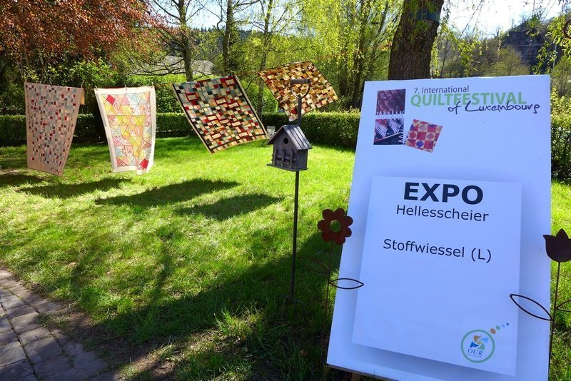 Ausstellung der Gruppe 'Stoffwiessel' 7. Quiltfestival Luxembourg