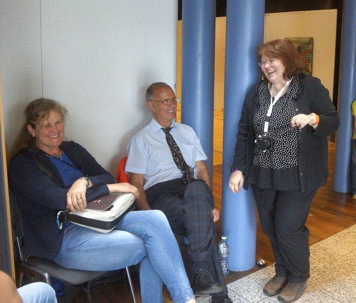 Liebe Birgit Kaller und Wolfgang Eibisch - isses nicht schön? Patchworktage 2016 in Celle