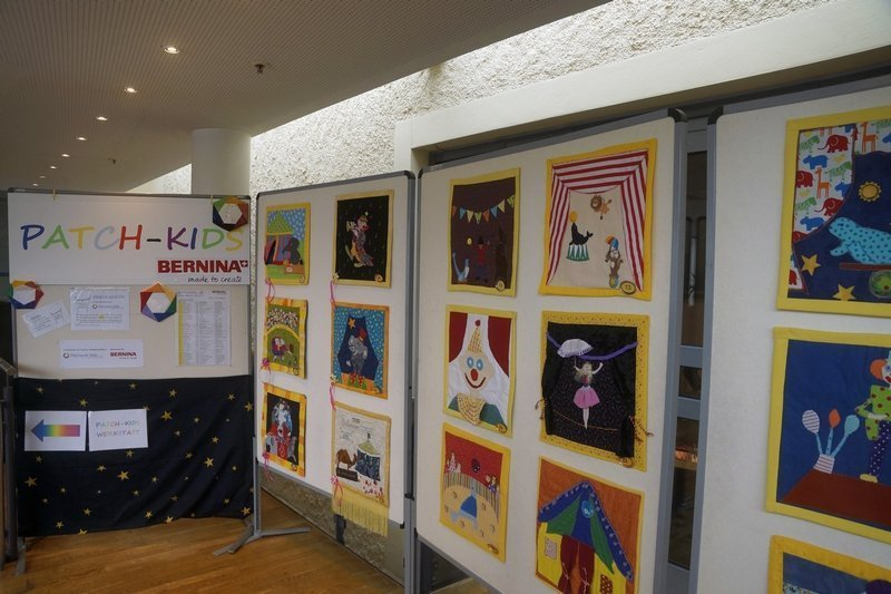 Ausstellung 'Zirkus Quilto' der Patch-Kids Patchworktage 2016 in Celle