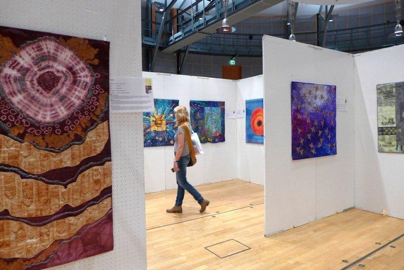 Ausstellung 'Radiation - Strahlung' Patchworktage 2016 in Celle