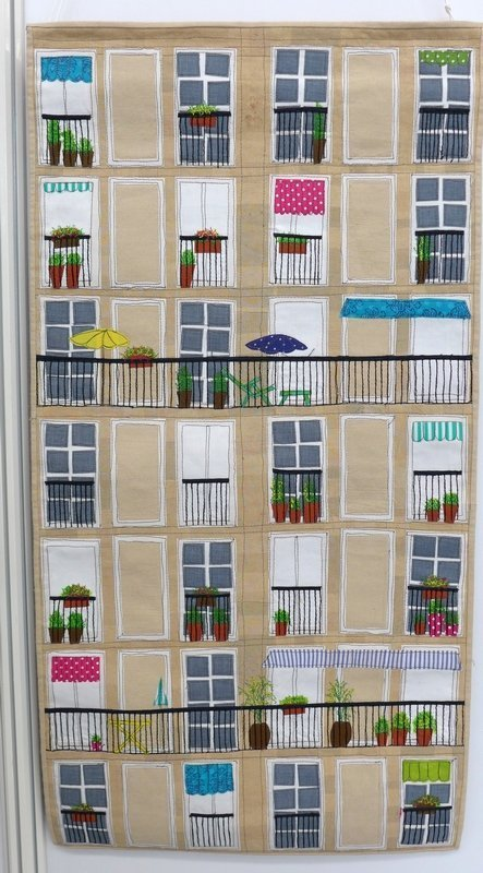 Gillian Travis: Le Havre Ausstellung 'International Threads' Patchworktage 2016 in Celle