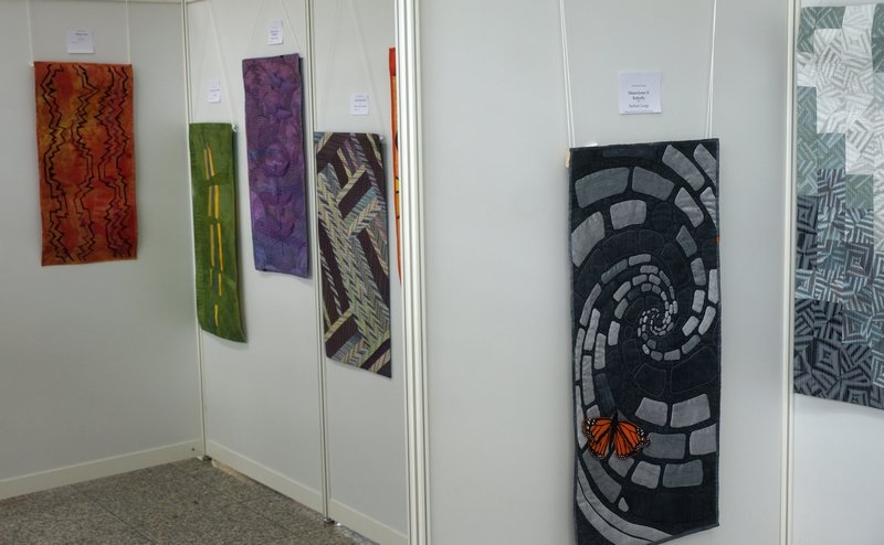 Ausstellung 'International Threads' Patchworktage 2016 in Celle
