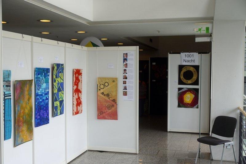 Ausstellung 'International Threads' Patchworktage 2016 in Celle