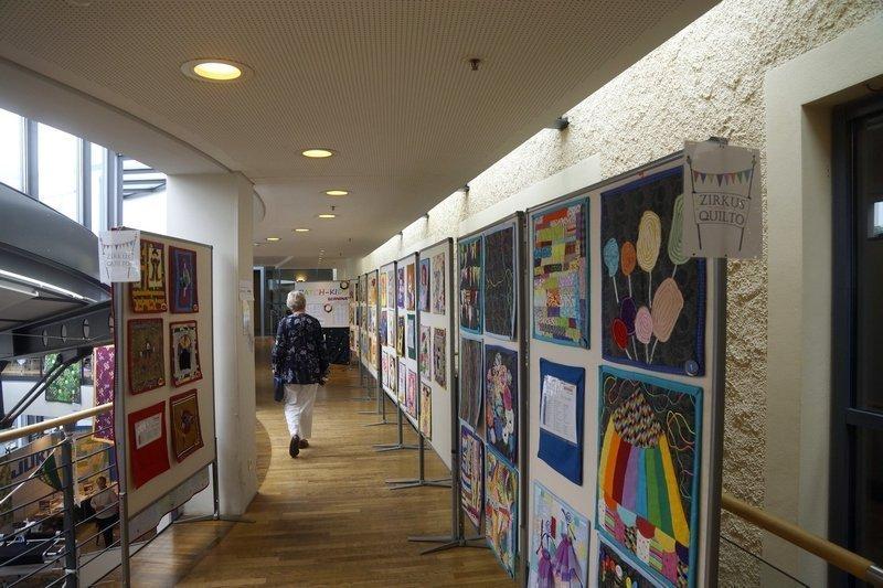 Ausstellung 'Zirkus Quilto' der Patch-Kids Patchworktage 2016 in Celle