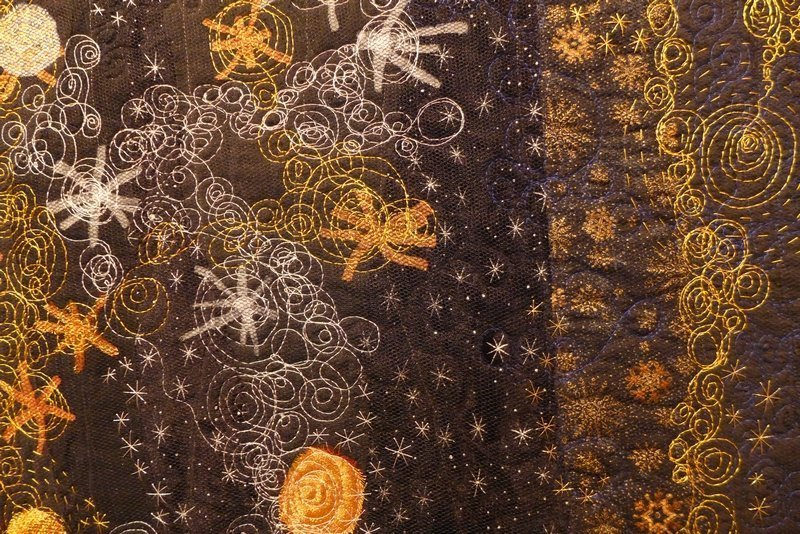 Kate Dowty: Mayotte, Detail 7. Quiltfestival Luxembourg