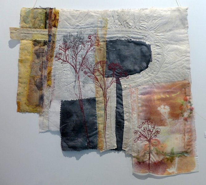 Cas Holmes: Yoke 7. Quiltfestival Luxembourg