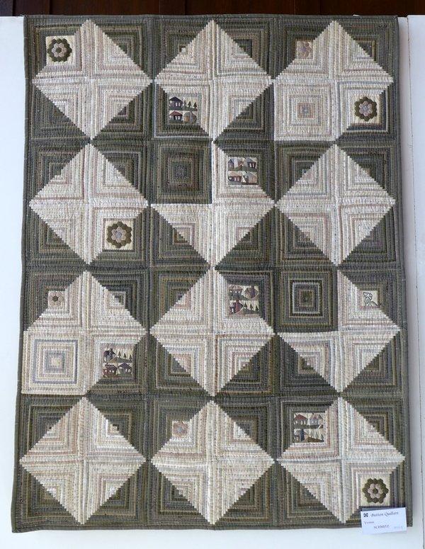 Quilt von Yvonne Schmitz Ausstellung der 'Button Quilters' 7. Quiltfestival Luxembourg