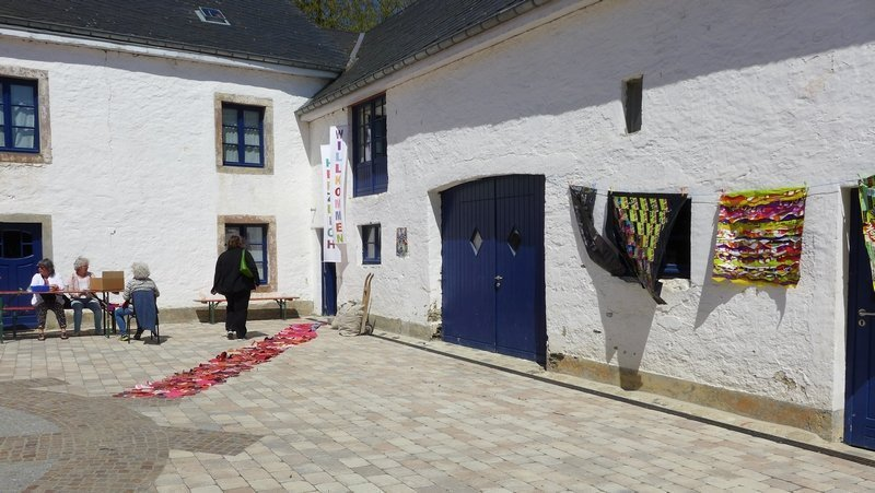 Ausstellung der Gruppe 'Grenze(n)loos' 7. Quiltfestival Luxembourg