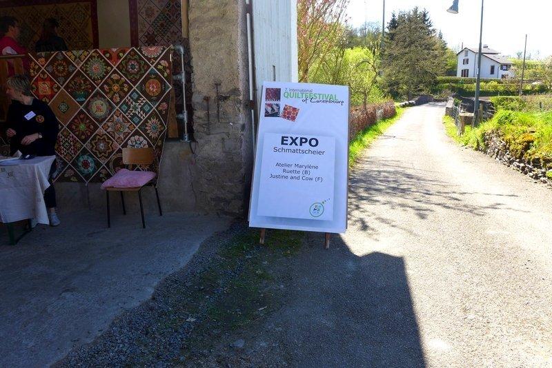 Ausstellung der Gruppe 'Atelier Ruette' und 'Justine and Cow' 7. Quiltfestival Luxembourg