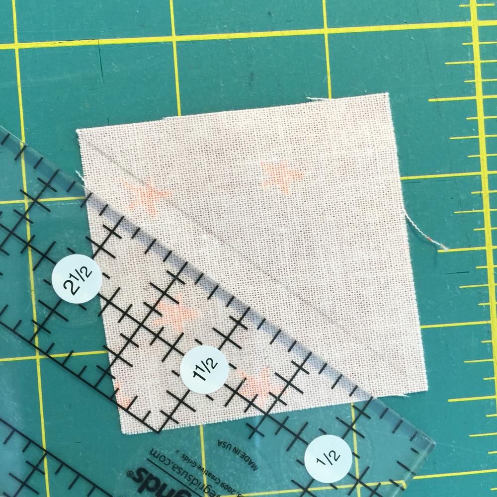 diagonal markieren